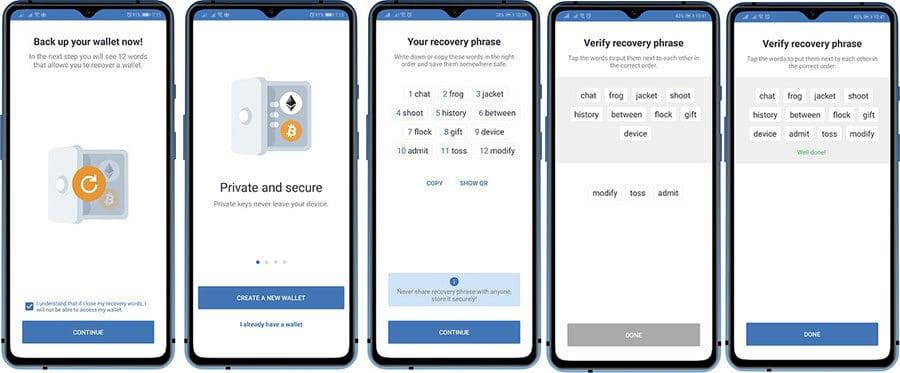 Trust Wallet Cüzdan Hesabı Oluşturma